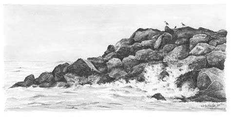 boat crashing drawing drawn ocean pencil and in color drawn ocean