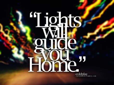 Lights Will Guide You Home Coldplay by Marco Marnewick 184 180 Loving Memories 184 180 04 10 1972