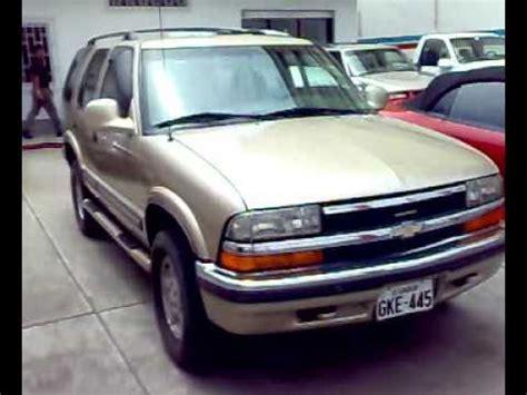 venta de carros usados en ecuador autos usados ecuador venta todoterreno chevrolet blazer