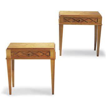 tables chevet design jean royere 1902 1981 pour la maison gouffe paire de tables de chevet vers 1939 20