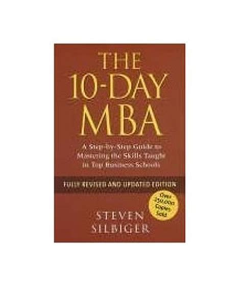 10 Day Mba Edition by 10 Day Mba Buy 10 Day Mba At Low Price In India On