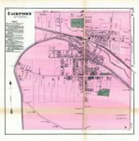 monroe county section 8 fairport atlas monroe county 1872 new york historical map
