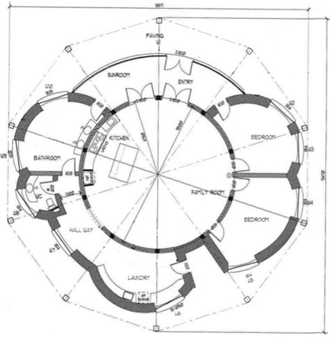 round house plans free home plans round house plans