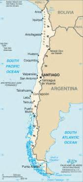 map of chile south america map of chile