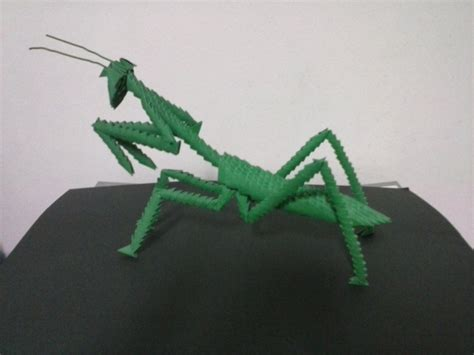 Origami Mantis - 17 best images about 3d origami on