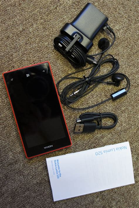 Headset Nokia Lumia 520 nokia lumia 520