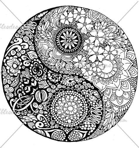 printable coloring pages yin yang free coloring pages of ying yang
