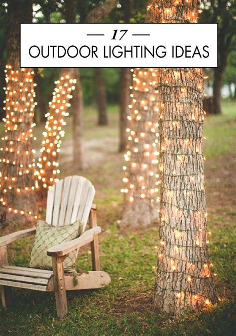 best 25 lights in trees ideas on garden