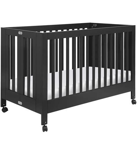What Is A Porta Crib by Babyletto Maki Size Folding Portable Crib Black