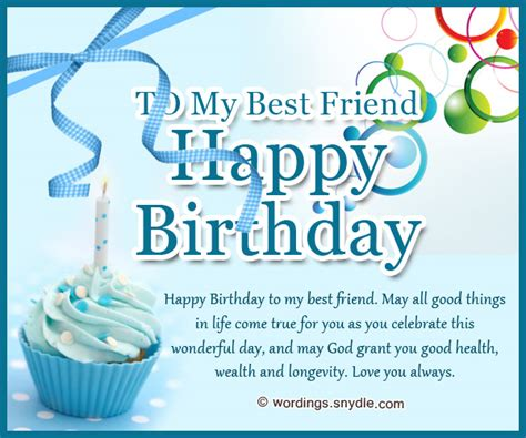 happy birthday best friend happy birthday messages for bestfriend wordings and messages