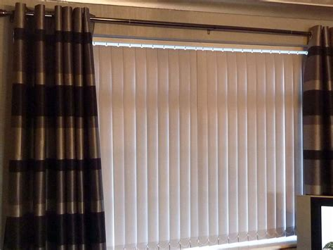 curtains with vertical blinds curtains over vertical blinds