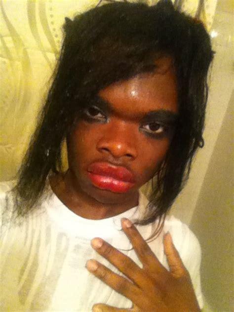 Ugly Black Girl Meme - makeup ugly fail funnypica