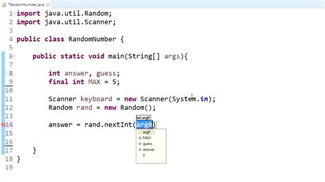 java tutorial random java programming tutorial 10 random number generator