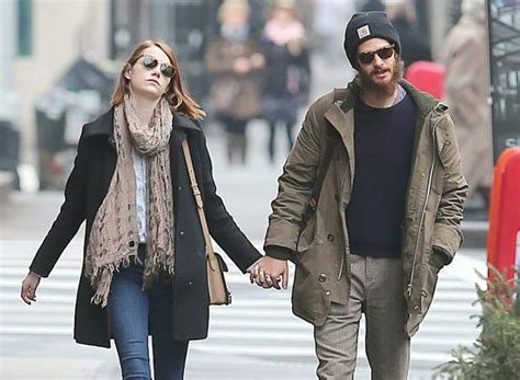 emma stone is dating emma stone andrew garfield reunite after dating break