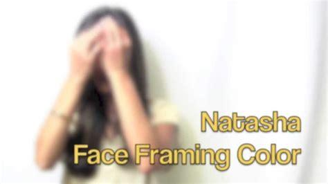 face framing hair cutting technique face framing hair color technique youtube
