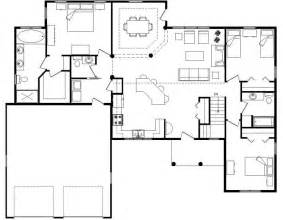 floor plan home best open floor house plans cottage house plans