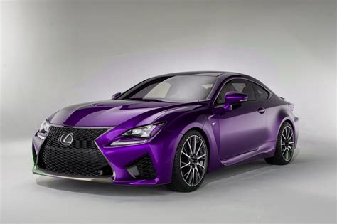 lexus rcf lexus rc f colored cars