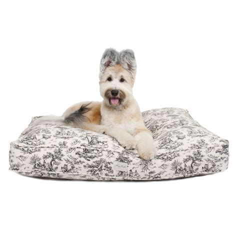 canvas dog bed harry barker toile canvas rectangle dog bed