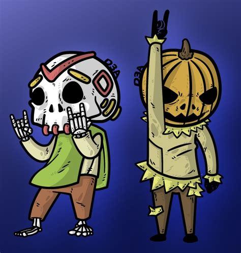 imagenes de halloween o dia de muertos happy halloween and dia de muertos by d3a on deviantart