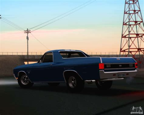 70 El Camino by Chevrolet El Camino Ss 70 For Gta San Andreas