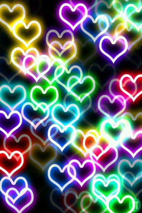 neon wallpaper pinterest neon hearts wallpaper ωαιιpαpεrš d 239 ε ƒ r