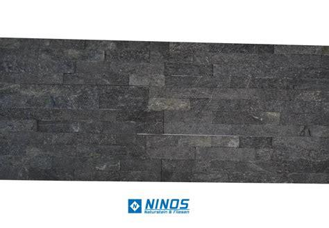 schwarzer naturstein brickstone schwarz glitz naturstein verblender f 252 r 39 90