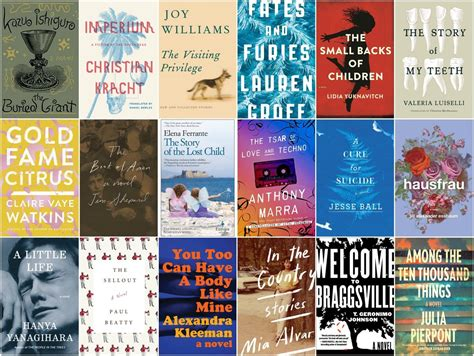 pictures of fiction books the 18 best fiction books of 2015