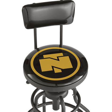 Stool Shopping by Northern Tool Adjustable Swivel Shop Stool With Backrest