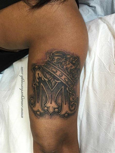 m m tattoo letter m designs and meanings me now