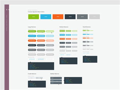 best ui library 40 great exles of ui style guides web graphic