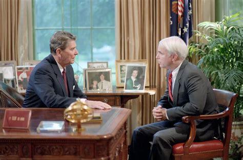 Mccain Office by File Ronald Sits With Mccain Jpg Wikimedia