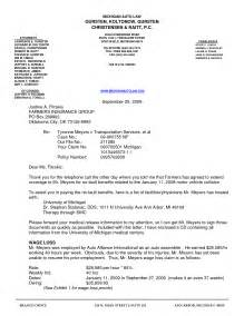 settlement letter template sample