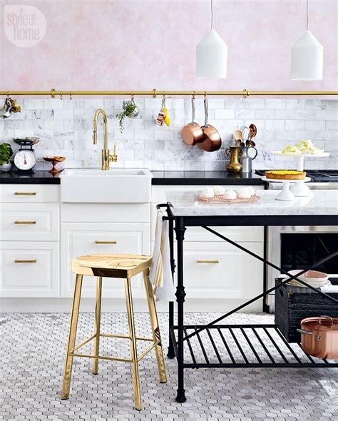 kitchen decorating trends 2017 small space interior chic condo style at home