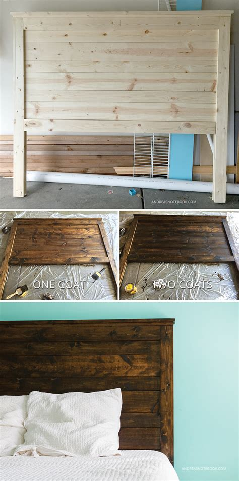 homemade rustic headboard how to make a diy rustic headboard