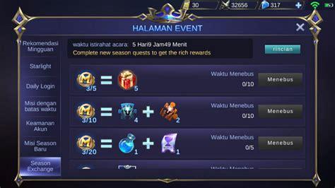 codashop mobile legend skin mobile legends update skin baru balmond dan event limited