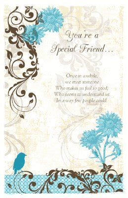 for a very special friend greeting card everyday friend quot a special friend quot birthday printable card blue
