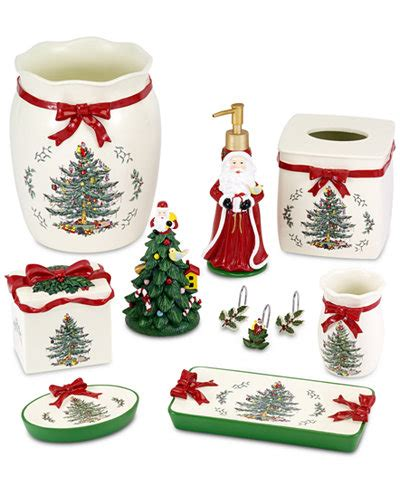 spode bathroom accessories avanti spode christmas tree bath accessories collection