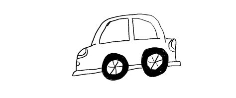 kid car drawing easy drawing lessons how to draw a car