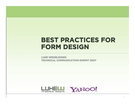 web layout design best practices web form design best practices
