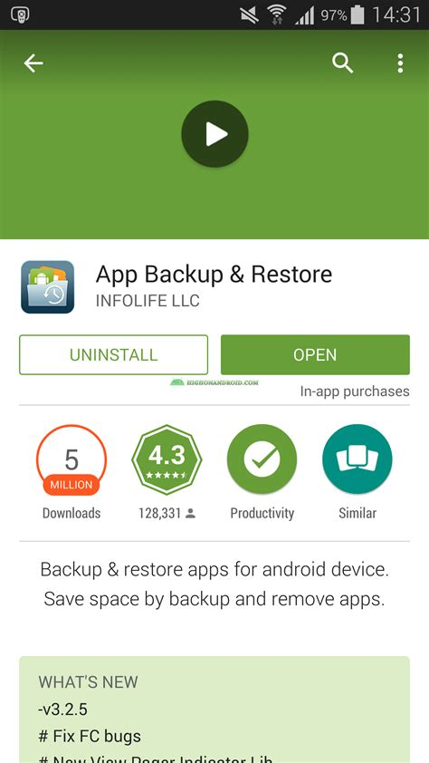 restore apps android guide how to backup restore android apps no root required howto highonandroid
