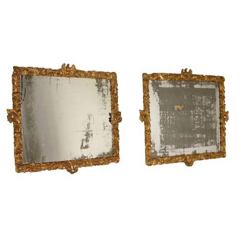 cornici antiquariato coppia di cornici dorate specchi e cornici