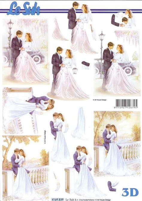 Wedding Decoupage Sheets - wedding 3 3d decoupage sheet