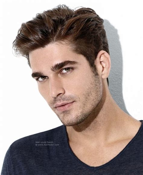hairstyles short in back and long sides mens short side haircuts mens hair short sides long top