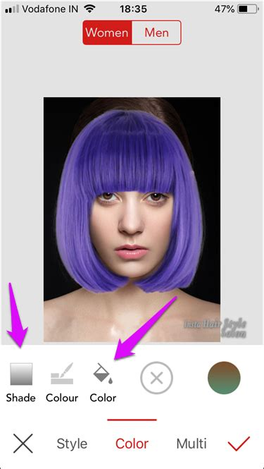 app to change hair color and style top 5 ios apps to change hair color in photos