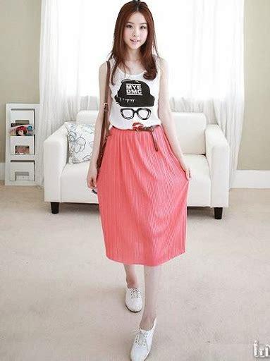 Fashion Wanita 2015 | gaya fashion artis korea 2015 pilihan style dan model