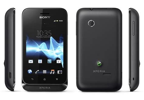 sony android sony xperia tipo android phone announced gadgetsin