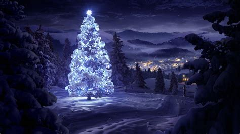 wallpaper christmas night christmas snow wallpapers wallpaper cave