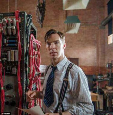 turing movie benedict cumberbatch as world war ii codebreaker alan turing in the imitation game daily mail