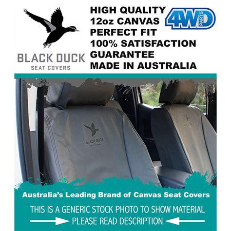 Canvas Car Seat Covers Australia Hilux Ln167 Sr5 S2 Black Duck Canvas Seat Covers 4wd Parts