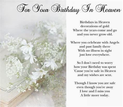 Happy Birthday in Heaven Images, Birthday in Heaven Pictures